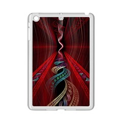 Artistic Blue Gold Red Ipad Mini 2 Enamel Coated Cases by Mariart