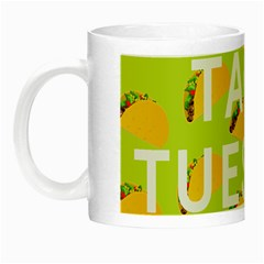 Bread Taco Tuesday Night Luminous Mugs by Mariart