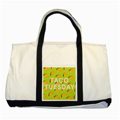 Bread Taco Tuesday Two Tone Tote Bag by Mariart