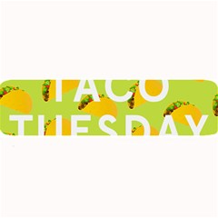 Bread Taco Tuesday Large Bar Mats by Mariart