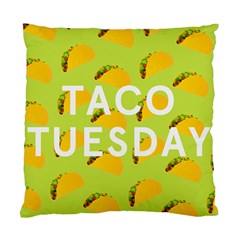Bread Taco Tuesday Standard Cushion Case (one Side) by Mariart