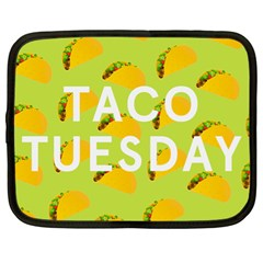 Bread Taco Tuesday Netbook Case (xl)  by Mariart