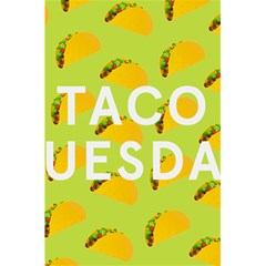 Bread Taco Tuesday 5 5  X 8 5  Notebooks by Mariart