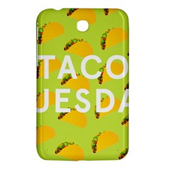Bread Taco Tuesday Samsung Galaxy Tab 3 (7 ) P3200 Hardshell Case  by Mariart