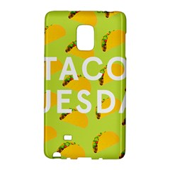 Bread Taco Tuesday Galaxy Note Edge by Mariart