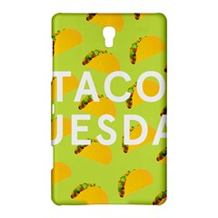 Bread Taco Tuesday Samsung Galaxy Tab S (8 4 ) Hardshell Case  by Mariart