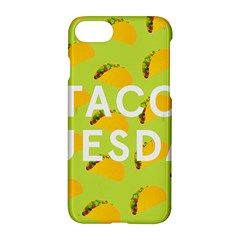 Bread Taco Tuesday Apple Iphone 7 Hardshell Case by Mariart