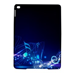 Abstract Musical Notes Purple Blue Ipad Air 2 Hardshell Cases by Mariart
