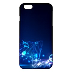 Abstract Musical Notes Purple Blue Iphone 6 Plus/6s Plus Tpu Case by Mariart