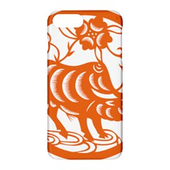 Chinese Zodiac Cow Star Orange Apple Iphone 7 Plus Hardshell Case by Mariart