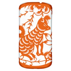 Chinese Zodiac Dog Star Orange Samsung Galaxy S3 S Iii Classic Hardshell Back Case by Mariart