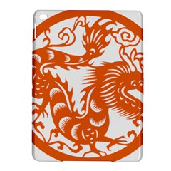 Chinese Zodiac Dragon Star Orange Ipad Air 2 Hardshell Cases by Mariart
