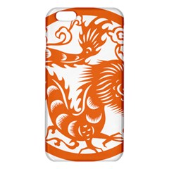 Chinese Zodiac Dragon Star Orange Iphone 6 Plus/6s Plus Tpu Case by Mariart