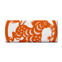 Chinese Zodiac Horoscope Horse Zhorse Star Orangeicon Cosmetic Storage Cases by Mariart