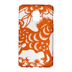 Chinese Zodiac Horoscope Horse Zhorse Star Orangeicon Galaxy Note Edge by Mariart