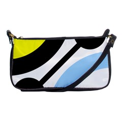 Circle Line Chevron Wave Black Blue Yellow Gray White Shoulder Clutch Bags by Mariart
