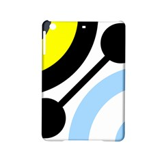 Circle Line Chevron Wave Black Blue Yellow Gray White Ipad Mini 2 Hardshell Cases by Mariart