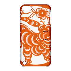 Chinese Zodiac Signs Tiger Star Orangehoroscope Apple Ipod Touch 5 Hardshell Case With Stand by Mariart