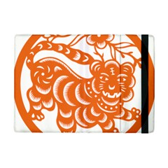 Chinese Zodiac Signs Tiger Star Orangehoroscope Ipad Mini 2 Flip Cases by Mariart