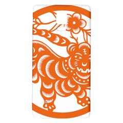 Chinese Zodiac Signs Tiger Star Orangehoroscope Galaxy Note 4 Back Case by Mariart