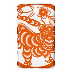 Chinese Zodiac Signs Tiger Star Orangehoroscope Samsung Galaxy Tab 4 (8 ) Hardshell Case  by Mariart