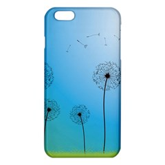 Flower Back Blue Green Sun Fly Iphone 6 Plus/6s Plus Tpu Case by Mariart