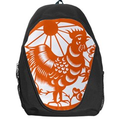 Chinese Zodiac Horoscope Zhen Icon Star Orangechicken Backpack Bag