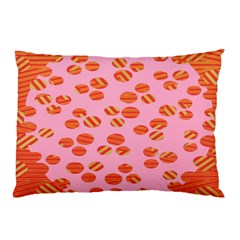 Distance Absence Sea Holes Polka Dot Line Circle Orange Chevron Wave Pillow Case (two Sides) by Mariart