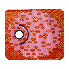 Distance Absence Sea Holes Polka Dot Line Circle Orange Chevron Wave Galaxy S3 (flip/folio) by Mariart