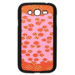 Distance Absence Sea Holes Polka Dot Line Circle Orange Chevron Wave Samsung Galaxy Grand Duos I9082 Case (black) by Mariart