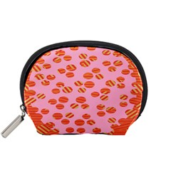 Distance Absence Sea Holes Polka Dot Line Circle Orange Chevron Wave Accessory Pouches (small)  by Mariart
