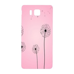 Flower Back Pink Sun Fly Samsung Galaxy Alpha Hardshell Back Case by Mariart