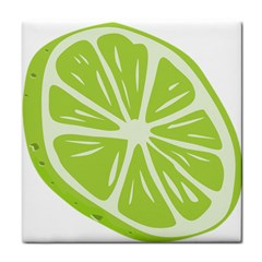 Gerald Lime Green Tile Coasters by Mariart