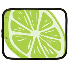 Gerald Lime Green Netbook Case (xxl)  by Mariart