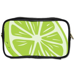 Gerald Lime Green Toiletries Bags