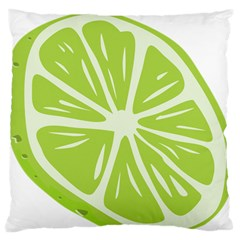 Gerald Lime Green Standard Flano Cushion Case (one Side) by Mariart