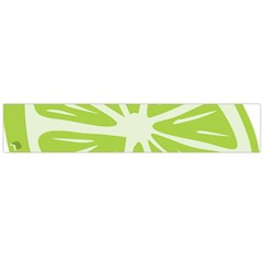 Gerald Lime Green Flano Scarf (large)