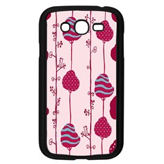 Flower Floral Mpink Frame Samsung Galaxy Grand Duos I9082 Case (black) by Mariart