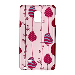 Flower Floral Mpink Frame Galaxy Note Edge by Mariart