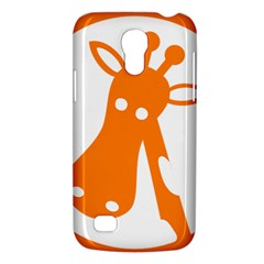 Giraffe Animals Face Orange Galaxy S4 Mini by Mariart