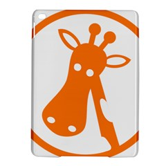 Giraffe Animals Face Orange Ipad Air 2 Hardshell Cases by Mariart