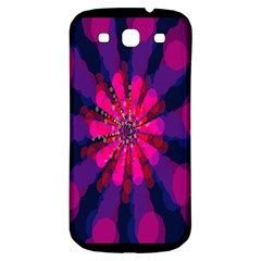 Flower Red Pink Purple Star Sunflower Samsung Galaxy S3 S Iii Classic Hardshell Back Case by Mariart