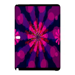 Flower Red Pink Purple Star Sunflower Samsung Galaxy Tab Pro 10 1 Hardshell Case by Mariart