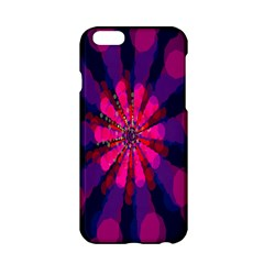 Flower Red Pink Purple Star Sunflower Apple Iphone 6/6s Hardshell Case by Mariart