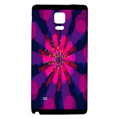 Flower Red Pink Purple Star Sunflower Galaxy Note 4 Back Case by Mariart