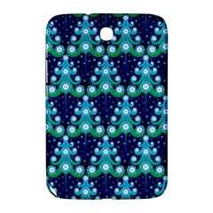 Christmas Tree Snow Green Blue Samsung Galaxy Note 8 0 N5100 Hardshell Case  by Mariart