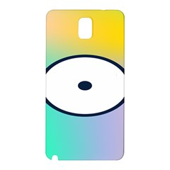 Illustrated Circle Round Polka Rainbow Samsung Galaxy Note 3 N9005 Hardshell Back Case by Mariart