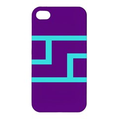 Illustrated Position Purple Blue Star Zodiac Apple Iphone 4/4s Hardshell Case by Mariart