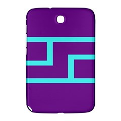 Illustrated Position Purple Blue Star Zodiac Samsung Galaxy Note 8 0 N5100 Hardshell Case  by Mariart
