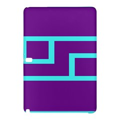 Illustrated Position Purple Blue Star Zodiac Samsung Galaxy Tab Pro 10 1 Hardshell Case by Mariart